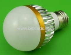 4W 4X1W High Power led bulb E27 base high power led light