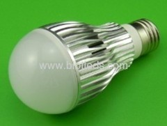 5W 5X1W High Power led bulb E27 base high power led