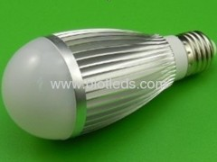 7W 7pcs 1W High Power led bulb E27 base high power led light