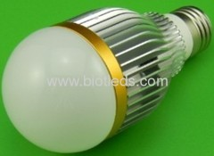7W 7pcs1W High Power led bulb E27 base high power led ligh