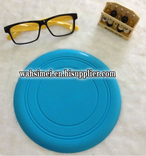 customized silicone flying disc