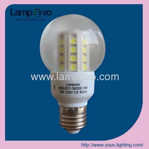 6W BULB LED LIGHT E27
