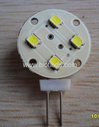 G4 led light G4 bulbs G4 lamp G4 4SMD led bulb side pin