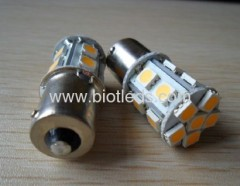 SMD led light smd lamps 15pcs 5050 SMD led bulbs BA15S base