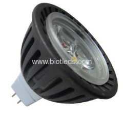 3W 3X1W High Power led spot MR16 base new light