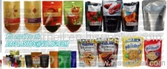 Stand up zip pouch, soup pouch, laminated pouch bags, Chocolate pouch bags, Zip top bag