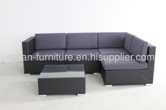 garden rattan furniture outdoor sofa set