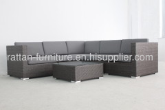 garden rattan furniture modern sofa set