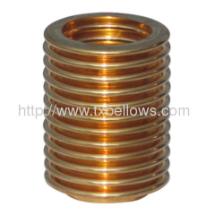 Phosphorus Bronze bellows for pressure controlling