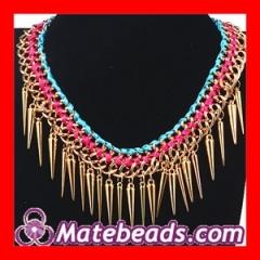 Cheap Tassels Punk Necklaces