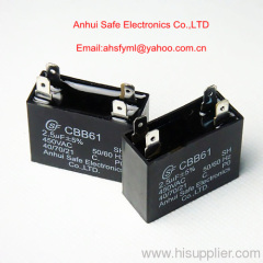 CBB61 running capacitor with explosion proof