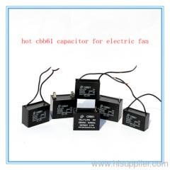 P0 explosion proof CBB61 generator capacitor