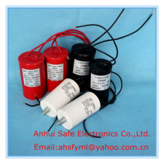 CBB60 motor fan capacitor low dissipation factor capacitor