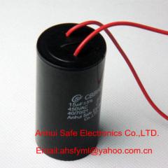 wires CBB60 SH running capacitor plastic body