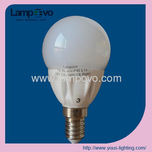 LED BULB LIGHT 4W E14 P45 SMD2835