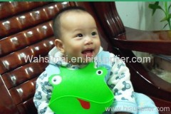 Various Unisex silicone rubber personalized baby bib for wholesale