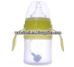 FDA Silicon milk bottle for baby feeding