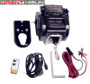 12 Volts DC Input 2000lbs pulling electric yacht trailer winch