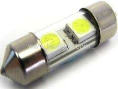 0.4W 2 SMD festoon car bulbs LED auto light led car light