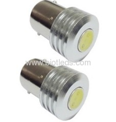 1W BA15S 1W led car light LED auto light