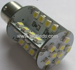 2W BA15S 40 SMD led car light