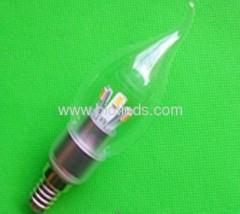 SMD led light 6pcs 5630smd led candle bulbs