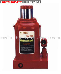Single Stage Hydraulic Bottle Jack 32 Ton Repair Tool For Truck
