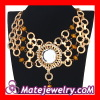 Wholesale Delicate Gold Vintage Style Choker Necklace Costume Jewelry