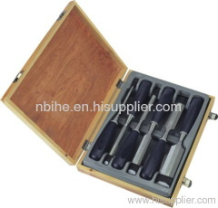 NEW 6pc PROFESSIONAL WOOD CARVING HAND CHISEL TOOL SET Hobby Arts Craft Tools