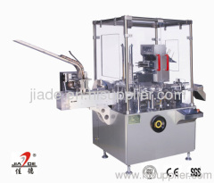 wrapped product cartoner machine