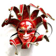 Decorative mardi gras masks