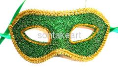 Plastic halloween party masks