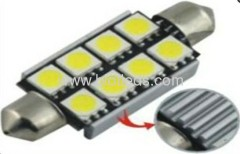 1.5W 8 SMD festoon car bulbs