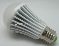 5W 5X1W High Power led bulb E27 base high power led bulb