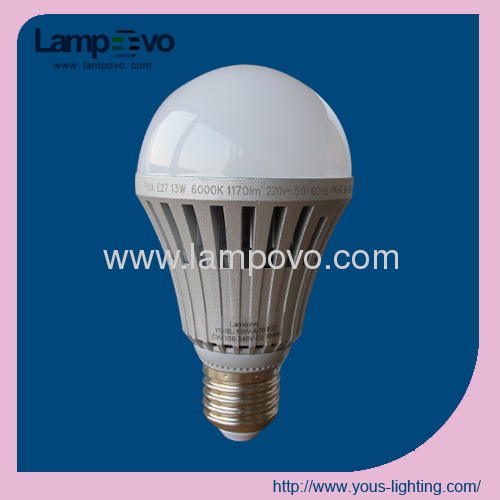 LED Bulb Lighting 13W E27 Dimmable SMD5630