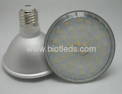 7W E27 40 SMD PAR30 led light