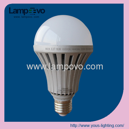 LED Bulb Lighting 16W E27 Dimmable SMD5630