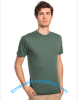 men's cotton single jersey O neck t-shirt