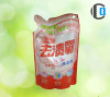 Stand Up Plastic Bag For liquid detergent