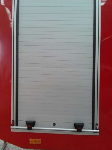 rolling shutters for fire trucks