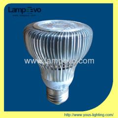 Led spotlight 9W E27 LED PAR20