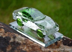 K9 Crystal car model with Perfume business gift