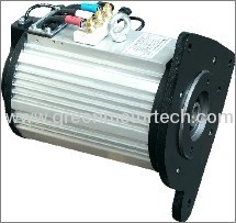 7kW brushless AC motor HPQ7-4 manufacturer from China Green