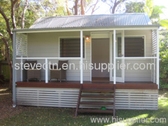 Prefabricated Bungalows with balcony in Australian standard