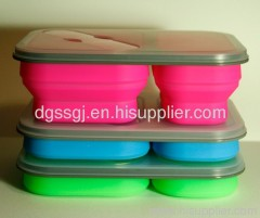 silicone food box