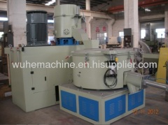 plastic PPPE film agglomerator and cooling unit