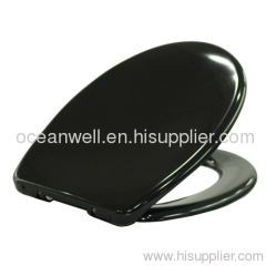 Soft Close Duroplast WC Seat with Smart Quick Release Stainless Steel Hinge