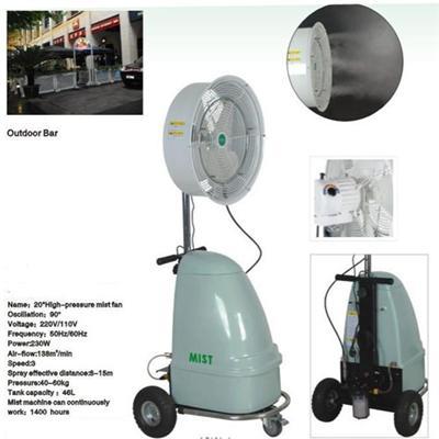 Humidifier Fan MIST FAN Machines HIGH PRESSURE FAN