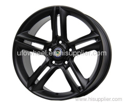 BLACK STAGGERED ALLOY WHEEL