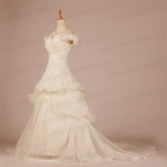 Capped Sleeves wedding dresses